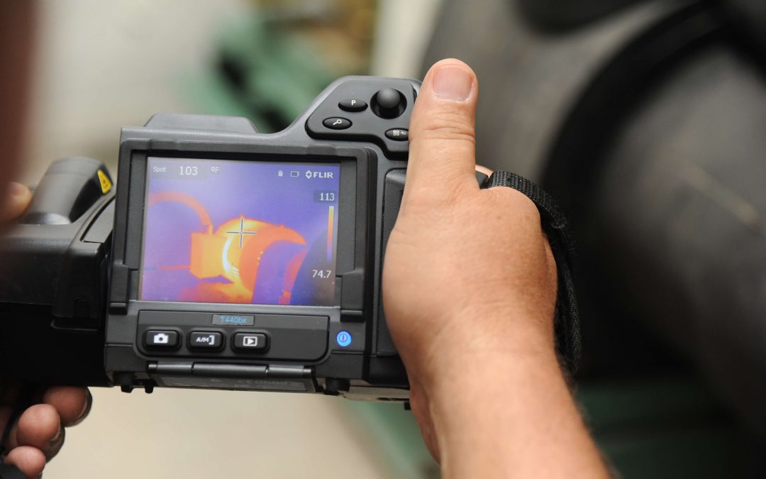 infrared therm imaging in home inspections