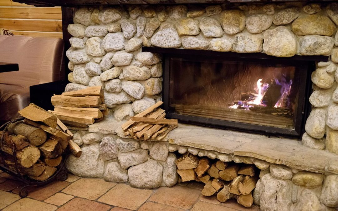 prevent chimney fires by using the right type of wood