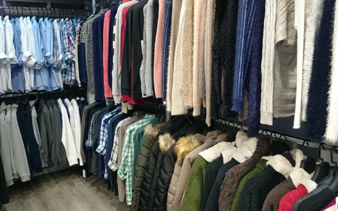 sorting your clothing helps with closet organization