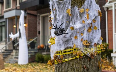 4 Tips for Safe Halloween Decorating
